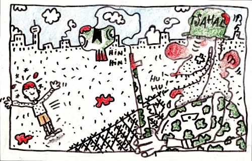 Armée israélienne, enfant tué, barbelés, fusils, sniper